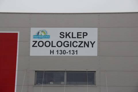 Druk plakatów w Warszawie - realizacja dla sklepu zoologicznego